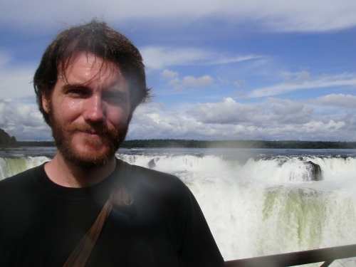 One of the Last Pictures Before I Shaved, Iguazu Falls, Argentina