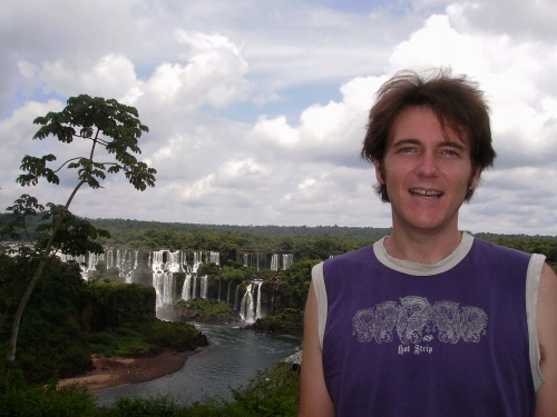 The Day After Shaving. Iguaçu Falls, Brazil