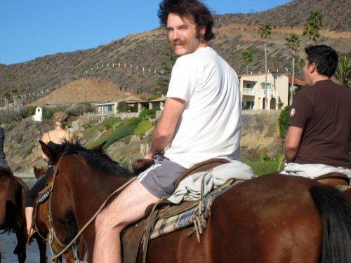 Horseback. La Mision, BC, Mexico. Nov 2008