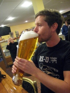 Drinking the Boot