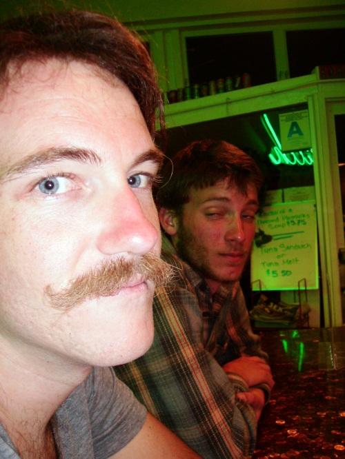 A Moustache is Born. San Diego, CA. Apr 2008