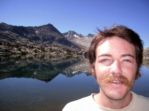 Swollen Eye. Lake Marie, Sierra Nevada, CA. July 2008