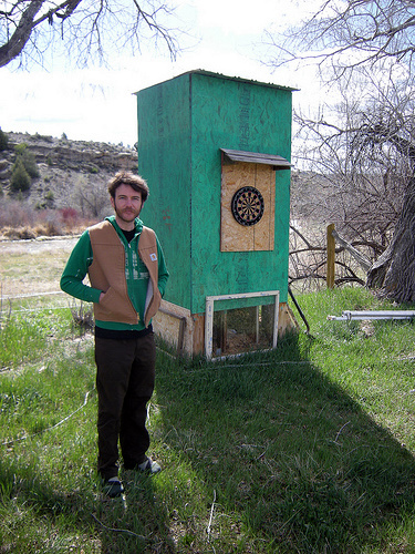 The Outhouse and I had Similar Fashion Sense